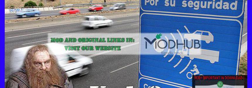 Realistic traffic v1.3 for ATS 1.36 by Rockeropasiempre