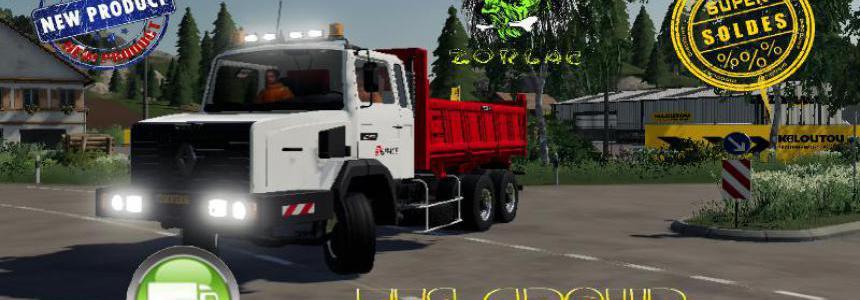 RENAULT C280 6X4 BENNE EIFFAGE v2.0