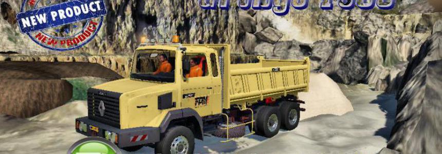 RENAULT C280 6x4 Benne TPM2 v1.5