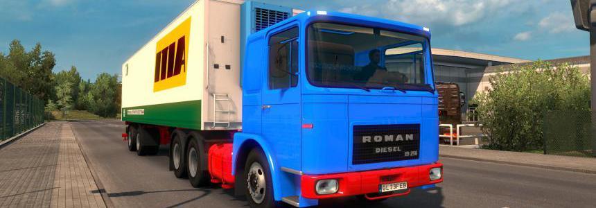 ROMAN DIESEL TRUCK & TRAILER v1.1