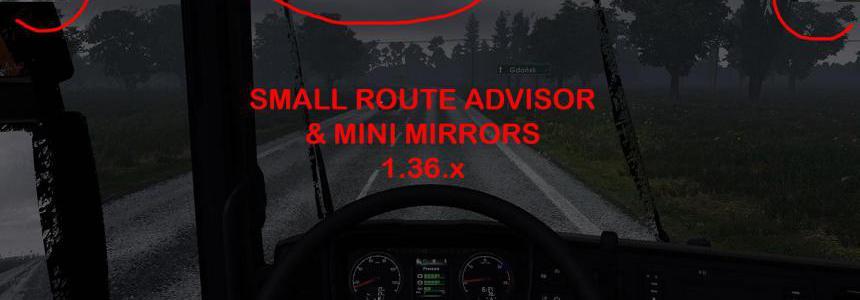 SMALL ROUTE ADVISOR & MINI MIRRORS 1.36