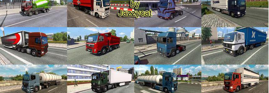 Truck Traffic Pack by Jazzycat v4.0