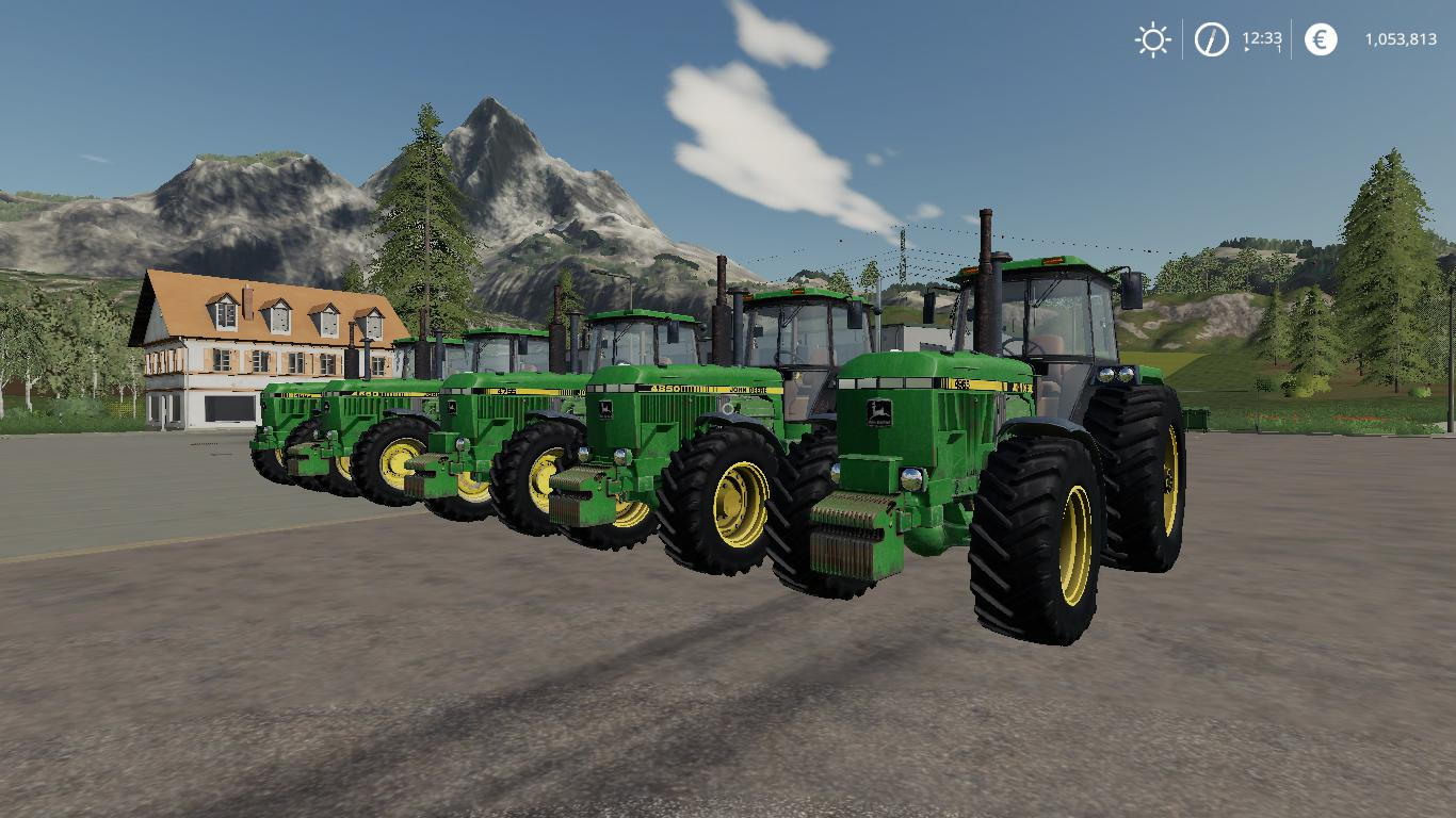 JohnDeere Old 4xxx Series v2.0 - Modhub.us