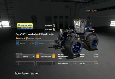 Eagle355th New Holland WheelLoader v1.0