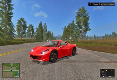 Ferrari 458 2010 fs17 v1.0