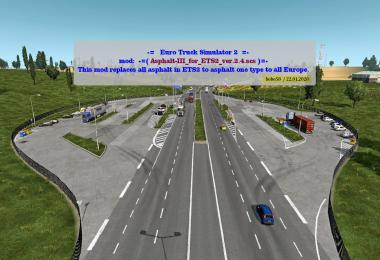 Asphalt for ETS2 1.36.x