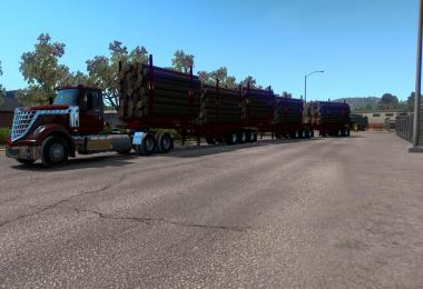 Arctic Logs Triple Trailer Ownable Mod 1.36.x