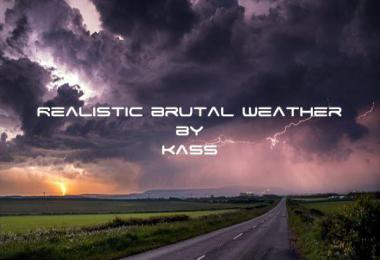 Realistic Brutal Weather V1.5 ATS 1.36