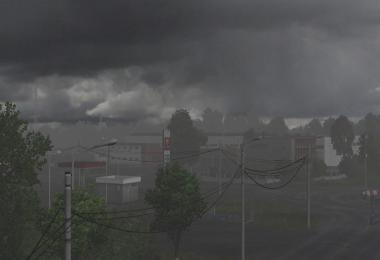Realistic Rain & Thunder Sounds v1.4 ATS 1.36