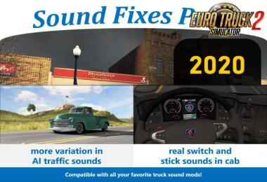 [ATS] Sound Fixes Pack v20.0 1.36.x