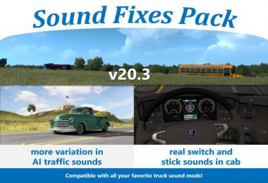 [ATS] Sound Fixes Pack v20.3 1.36.x