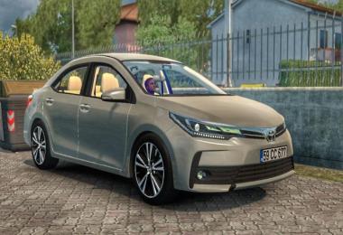 [ATS] Toyota Corolla 2018 v1.1 1.36.x