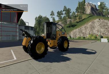 Caterpillar 535D Winch Skidder V1.0