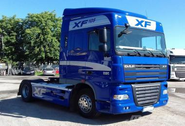 Daf Xf 105 Engine Sound Pack (Euro4, Euro5, Usa Paccar) v1.0