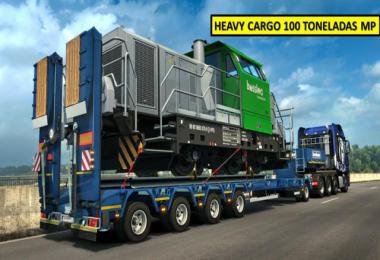 DLC HEAVY CARGO PACK 100 T MP v1.0