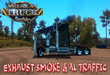 Exhaust Smoke & Ai Traffic 1.36
