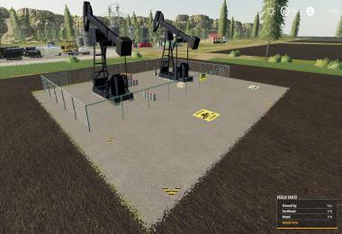 FS19 Crude Oil Derrick v1.0