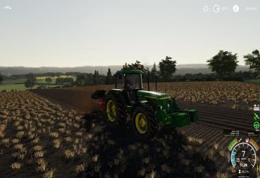 John Deere 3x50 Tractor v1.0