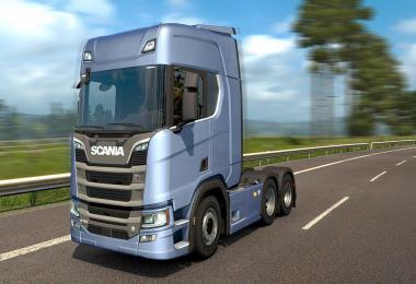 New Scania R & S series V8 stock sound v1.2