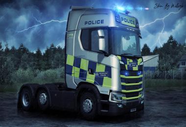 Police NG Scania Skin v1.0