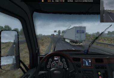 Realistic Rain v3.1 ATS 1.36