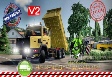 RENAULT C280 6X4 BENNE TP v2.0