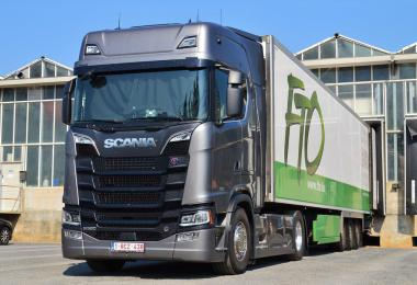 Scania NEXTGEN REAL V8 SOUND v7 1.36