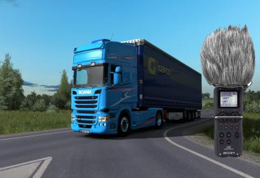 Scania DC13 engine sound mod 1.36.x