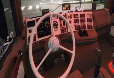 Scania Holland Style 3-Spoke Steering Wheel v2.0