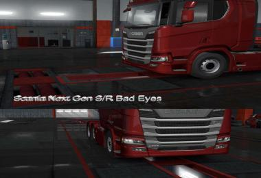 Scania S & R Bad Eyes 1.36.x