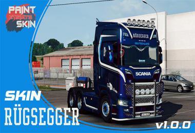 Scania S RUGSEGGER skin v1.0