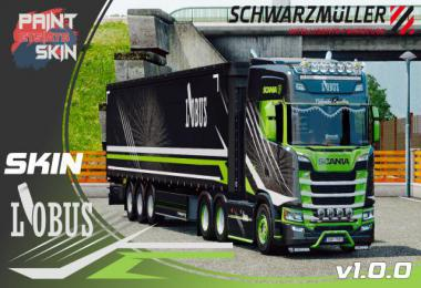 Scania S + Schwarzmuller L'OBUS skin v1.0