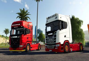 Scania S580 Custom (Original version) v1.0.0.0
