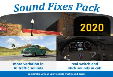 Sound Fixes Pack v20.0 1.36