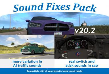 Sound Fixes Pack v20.2 - ATS + ETS2 1.36