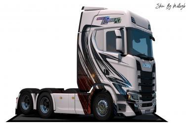 TKL NG Scania Skin v1.0