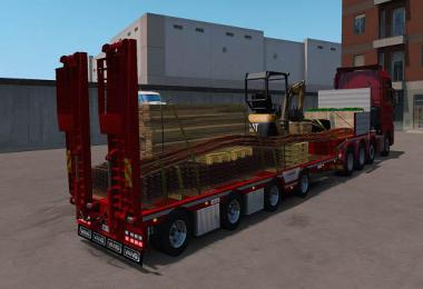 Vangs open semi trailer 1.36