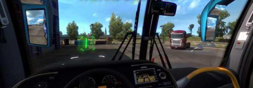 Steering Mod for Bus ETS2 v1.0