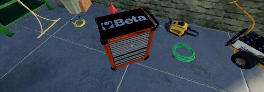 BETA TOOL TROLLEY v1.0.0.0