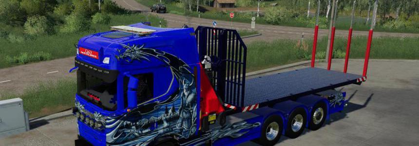 Scania NG  HKL and crane v1.0