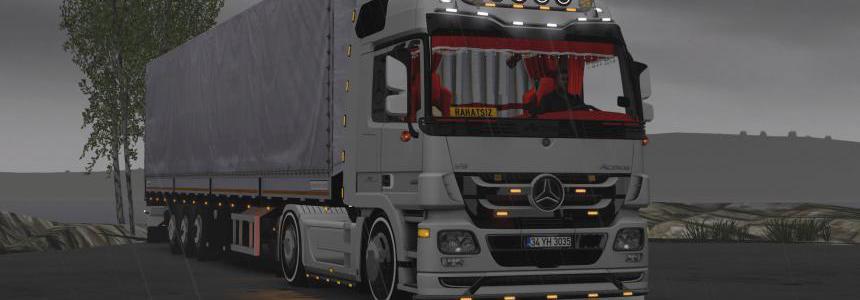 Mercedes Actros MP3 Custom Edit 1.36