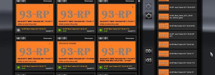 93-RP Mod Trailer VanTransporter v0.04
