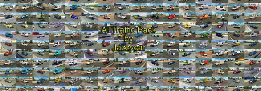 AI Traffic Pack by Jazzycat v12.0