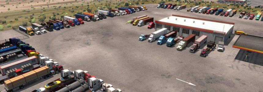 American Truck Stops v1.0 by Ernst Veliz 1.36.x