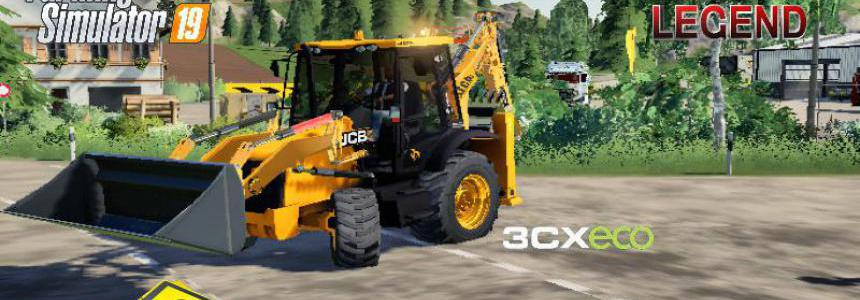 BACKHOE LOADER JCB 3CX ECO v1.5