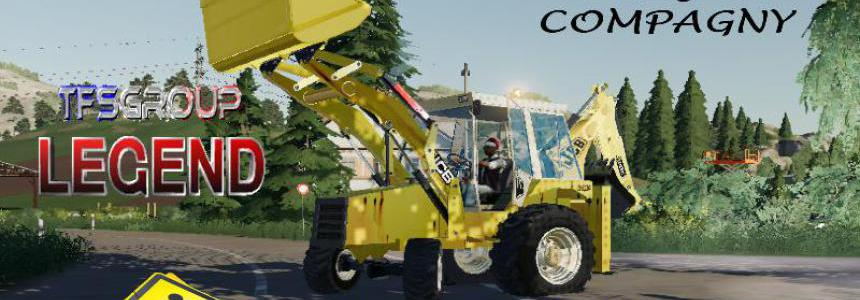 BACKHOE LOADER JCB 3CX OLD v1.5