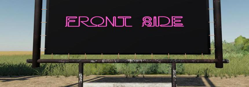 Billboard Sign (Prefab) v1.0.0.0