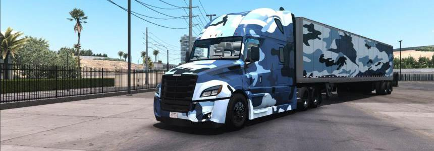 Freightliner Cascadia Combo Camouflage v1.0