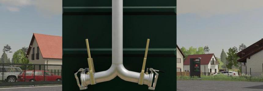 Kotte Garant FRC with licenseplate and hoses v1.0