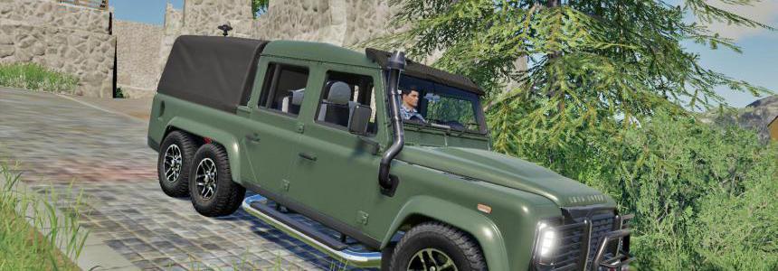 LandRover Defender 110 6X6 FS19 v1.0